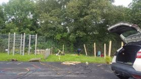 Our New Foundation Outdoor Resource Area